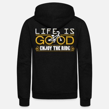 Bicycle Bicycle Life - Unisex Fleece Zip Hoodie