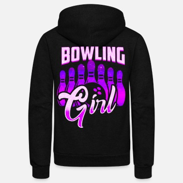 Your Voice Bowling Sports Voice - Unisex Fleece Zip Hoodie