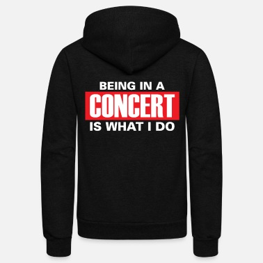 Concert Concert children - Unisex Fleece Zip Hoodie