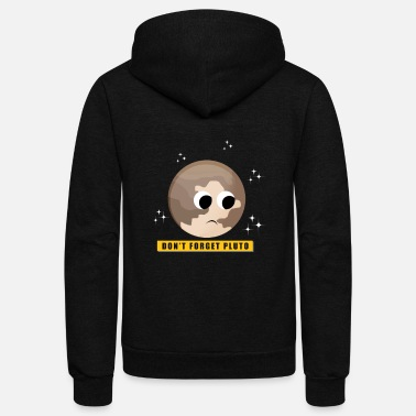 Pluto Pluto Planet Gift Space Kids - Unisex Fleece Zip Hoodie