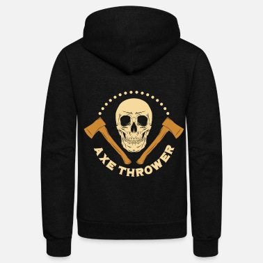 Axe Axe Thrower - Unisex Fleece Zip Hoodie
