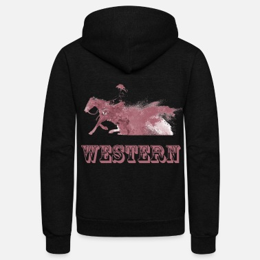 Western Riding western riding - Unisex Fleece Zip Hoodie