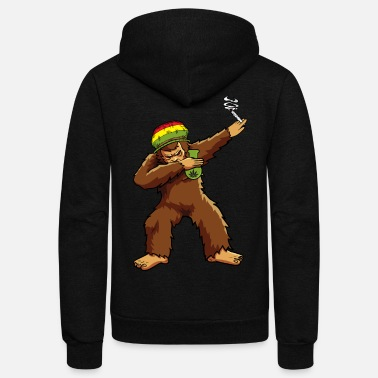 7801e00483f Bigfoot Dabbing Smoking Weed and Bong Men s Hoodie