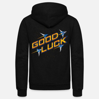 good luck - Unisex Fleece Zip Hoodie