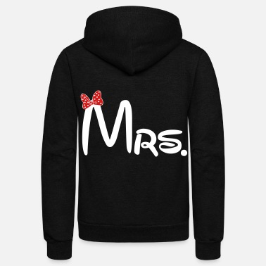 Relationship Mrs. - Unisex Fleece Zip Hoodie