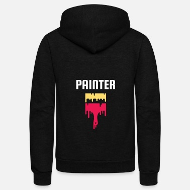 Painter Painter - Unisex Fleece Zip Hoodie