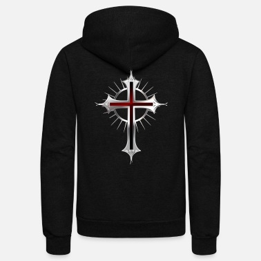 Cross Cross Christianity - Unisex Fleece Zip Hoodie
