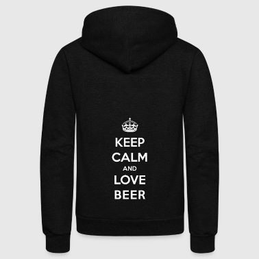 beer alcohol - Unisex Fleece Zip Hoodie