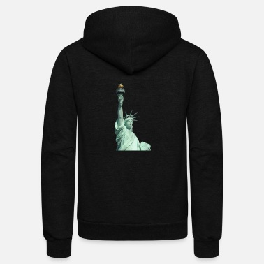 Statue Of Liberty Statue of Liberty USA - Unisex Fleece Zip Hoodie