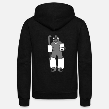 Hockey Field Hockey - Unisex Fleece Zip Hoodie