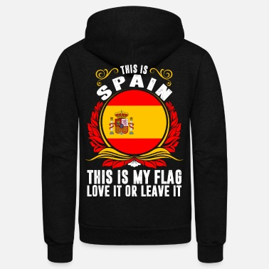 Spain This Is Spain - Unisex Fleece Zip Hoodie