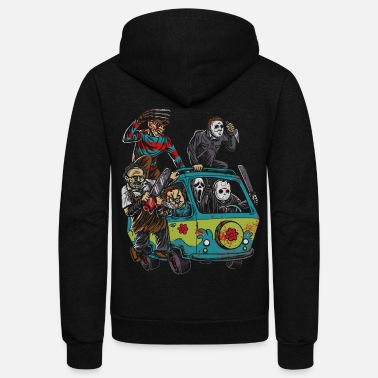 Horror Actor of Halloween shirt - Unisex Fleece Zip Hoodie