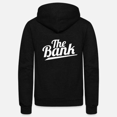 Bank THE BANK - Unisex Fleece Zip Hoodie
