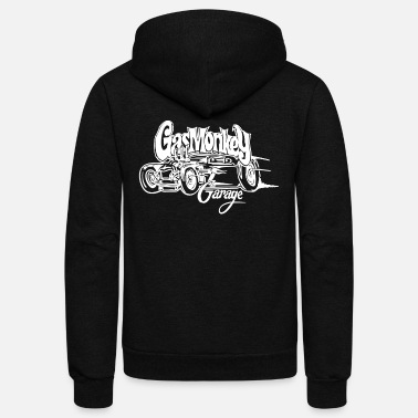 Gas Gas Monkey Garage - Unisex Fleece Zip Hoodie