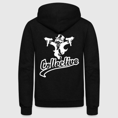 Collective Monopoly - Unisex Fleece Zip Hoodie