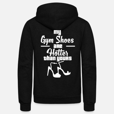 Shoes Pole Dance Shoes - Unisex Fleece Zip Hoodie