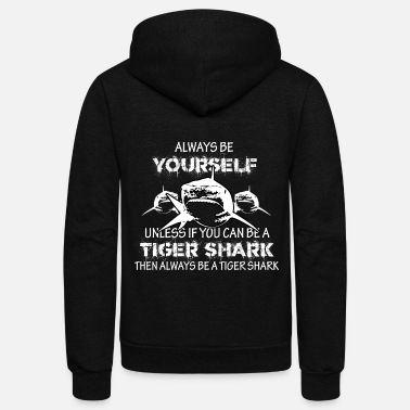Tiger Shark Tiger Shark - Unisex Fleece Zip Hoodie