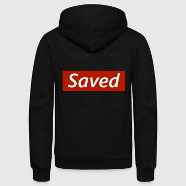 Saved - Unisex Fleece Zip Hoodie