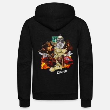 Rap Culture - Unisex Fleece Zip Hoodie