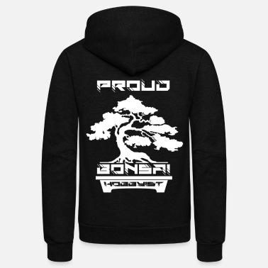 Hobbyists Proud Bonsai Hobbyist - Unisex Fleece Zip Hoodie