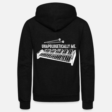 Percussion Unapologetically Me - Xylophone Musical Instrument - Unisex Fleece Zip Hoodie