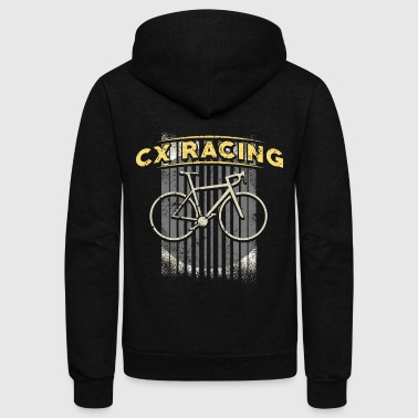 Cyclocross Bike Mountain Biking Cyclecross Bike Cyclist - Unisex Fleece Zip Hoodie