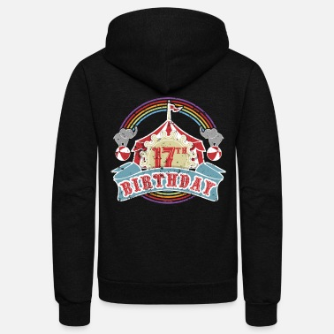 Carnival School Carnival 17th Birthday Party - Unisex Fleece Zip Hoodie