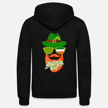 St Patricks Day St. Patricks Day - Unisex Fleece Zip Hoodie