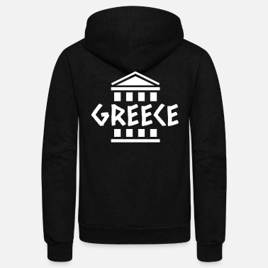 Greece greece - Unisex Fleece Zip Hoodie