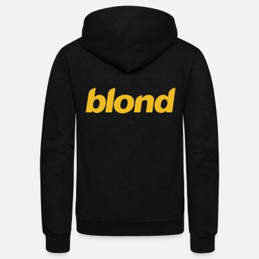 Blonde Blond Blonde - Unisex Fleece Zip Hoodie