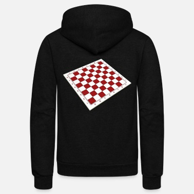 Chess Board chess board - Unisex Fleece Zip Hoodie