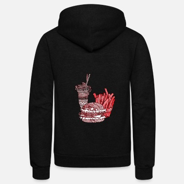 Meal Meal - Unisex Fleece Zip Hoodie