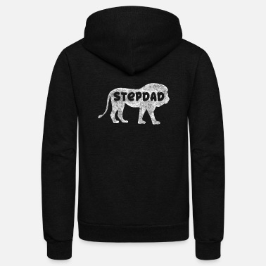 Stepdad Lion Stepdad - Unisex Fleece Zip Hoodie