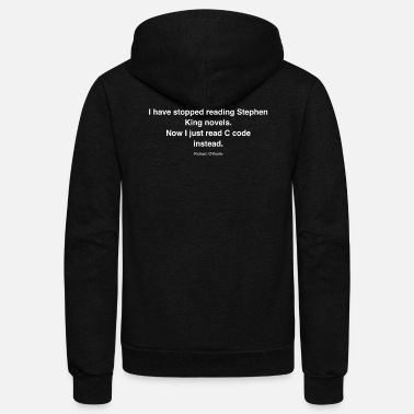 King HQ I have stopped r white 48558d9540a06428fc831cdf - Unisex Fleece Zip Hoodie