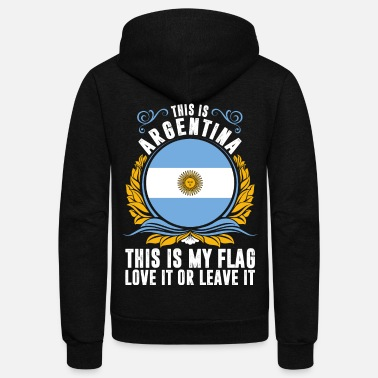Argentina This Is Argentina - Unisex Fleece Zip Hoodie