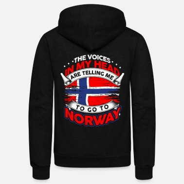 Norway Norway - Unisex Fleece Zip Hoodie