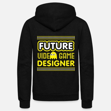 Video Video Game Gift Future Video Game Designer - Unisex Fleece Zip Hoodie