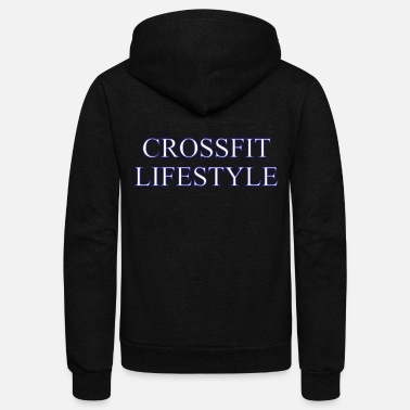 Crossfit Crossfit Lifestyle - Unisex Fleece Zip Hoodie