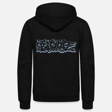 Graffiti BIGUP Graffiti style - Unisex Fleece Zip Hoodie
