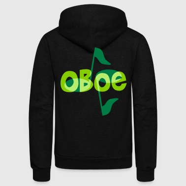 Oboe Notes - Unisex Fleece Zip Hoodie