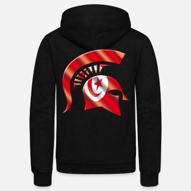 Tunisia Tunisia - Unisex Fleece Zip Hoodie