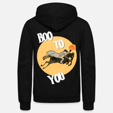 Horseman Headless Horseman - Unisex Fleece Zip Hoodie
