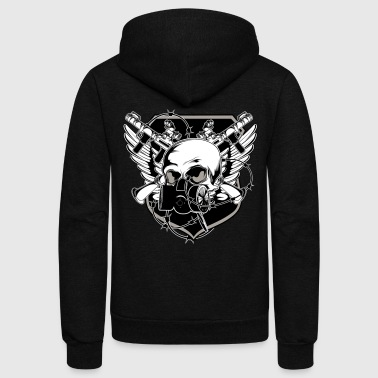 GANGSTER by NIGHTRAY - Unisex Fleece Zip Hoodie