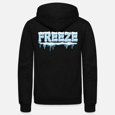 Freezing Freeze - Unisex Fleece Zip Hoodie