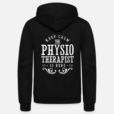 Mom Therapy Team Physiotherapy Physiotherapist Physio - Unisex Fleece Zip Hoodie