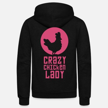 Chicken Chicken - Unisex Fleece Zip Hoodie
