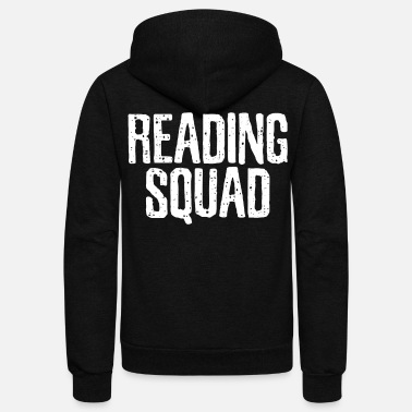 Read Reading Reading Reading - Unisex Fleece Zip Hoodie