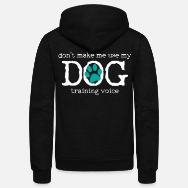 Training Dog Training - Unisex Fleece Zip Hoodie