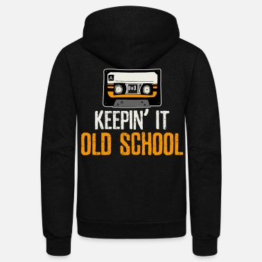 Old School Old School - Unisex Fleece Zip Hoodie