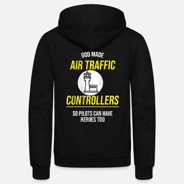 Air Traffic Air Traffic Control - Air Traffic Controller - Unisex Fleece Zip Hoodie